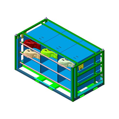 Design and Prototype - Rack 1 - Aristo Industries