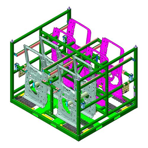 Design and Prototype - Rack 2- Aristo Industries