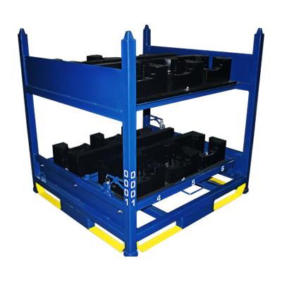 Aristo Industries - Complete Material Handling Solutions - Welded Rack with Dunnage